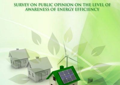 Survey on public opinion on the level of awareness of energy efficiency
