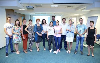 "The first training with young entrepreneurs held in the program ""Youth Business"""