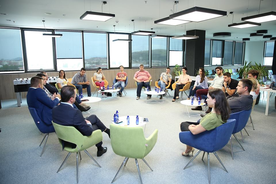 The first thematic meeting was held within the Youth Business project