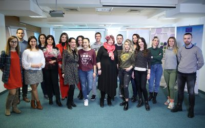 First one-day training was held in new cycle of training for 2019 for young entrepreneurs