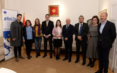 "The agreement on financing of the project was signed ""Preservation and development of traditional Montenegrin crafts – gold embroidery"""