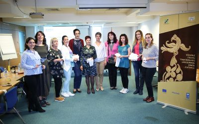 "The first day of training ""The skills of embroidering Montenegrin goldsmith"" was held."