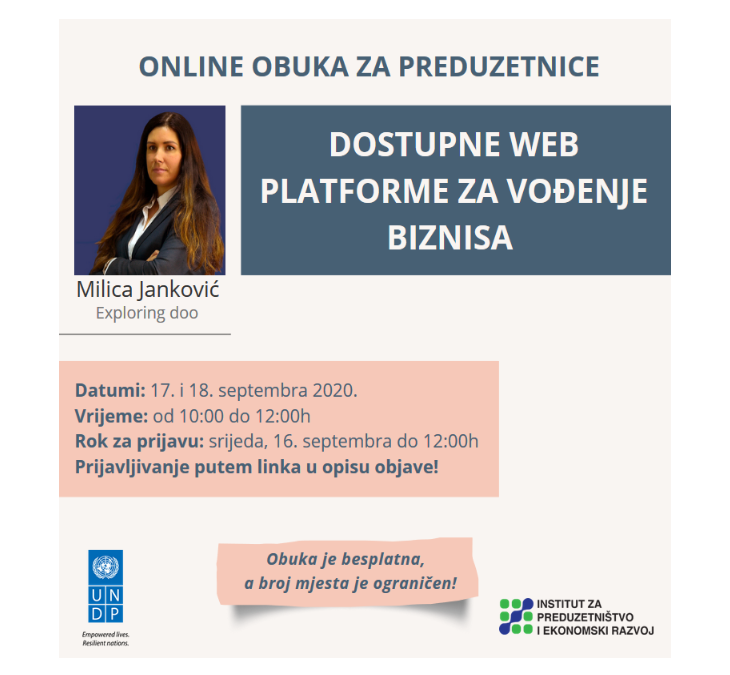 The second online training for women entrepreneurs